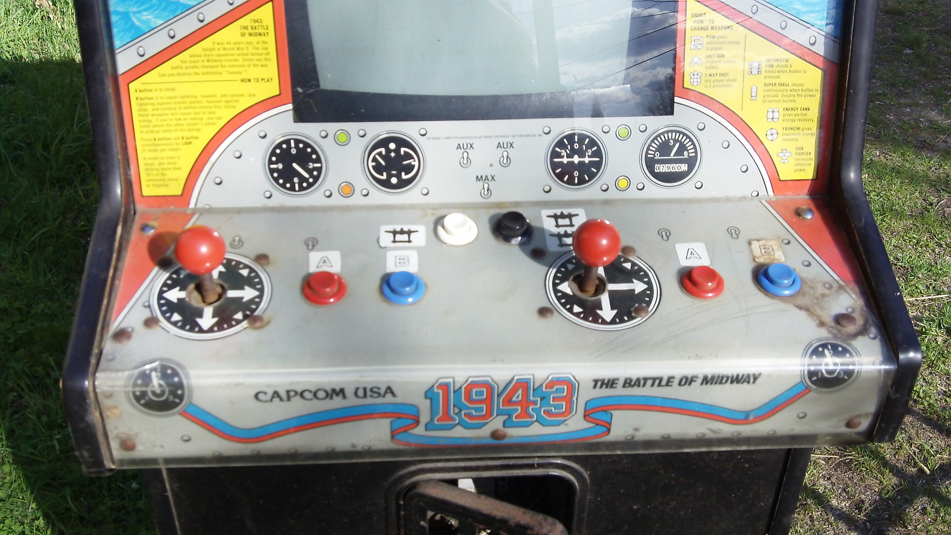 1943 arcade game for sale